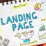 landing page optimisation for new website