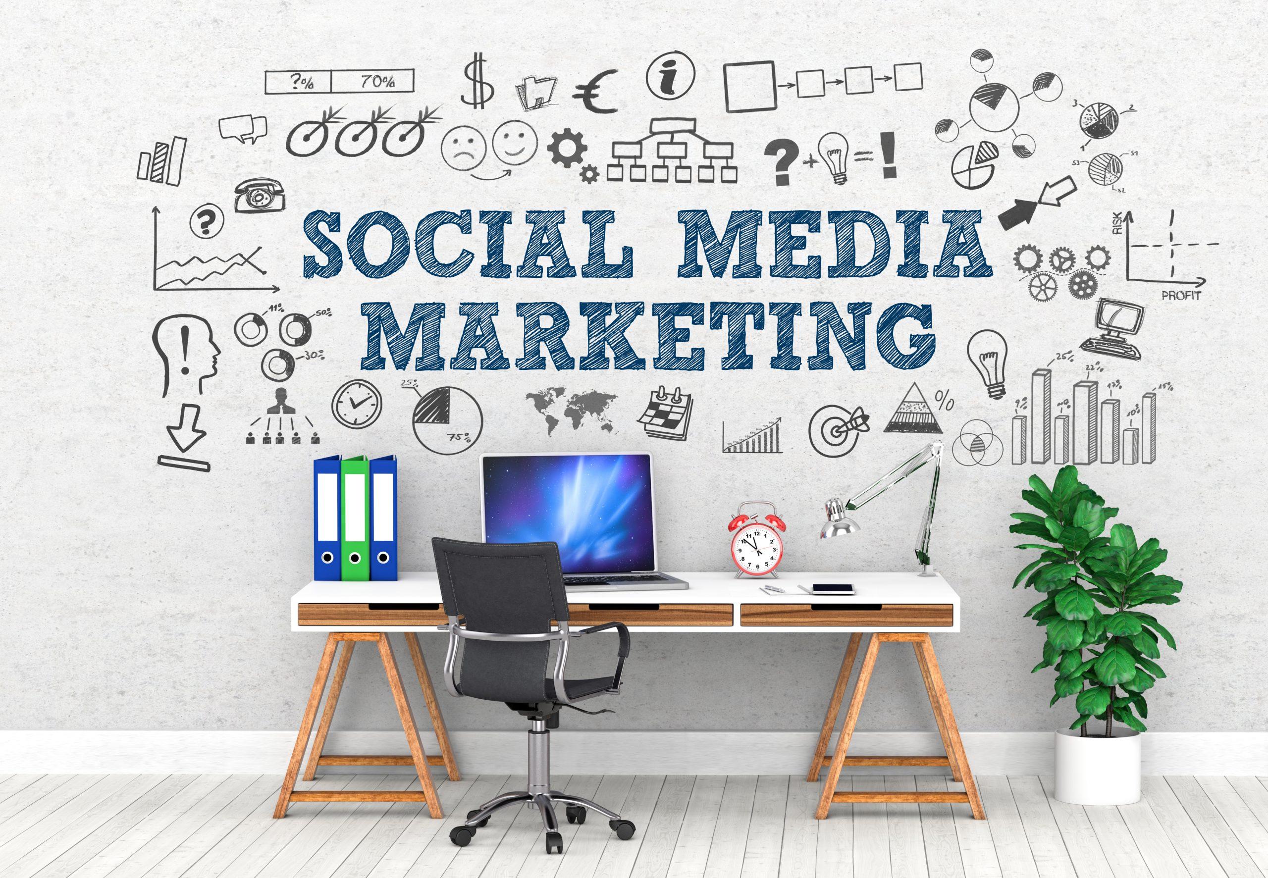 A day in social media marketing world